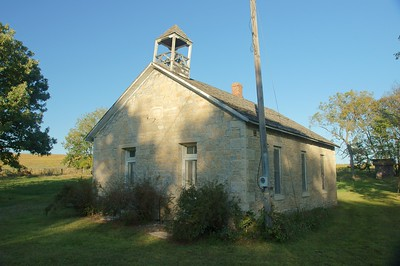 Snokomo Schoolhouse in Kansas.
