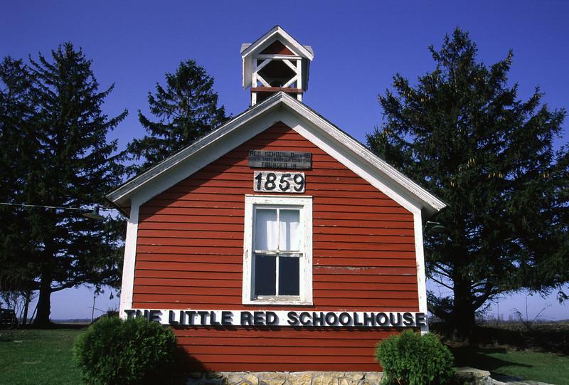 Old schoolhouse in Wabasha County