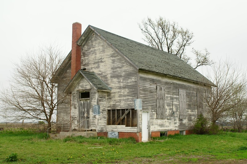 One-room schoolhouse in Mills County, IA.