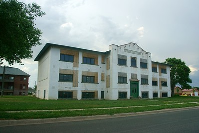Old high school in Torrington, WY.