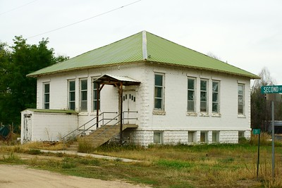 Schoolhouse in Oral, SD.