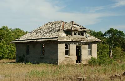 Kansas Rural Schoolhouse