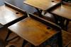 Schoolhouse desks