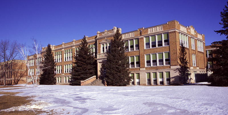 Bemidji High School (panoramic)