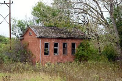 District 2 schoolhouse outside of Loup City, NE.