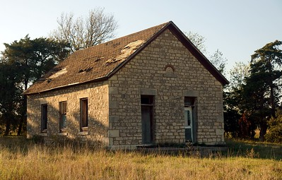 District 32 Kansas schoolhouse.