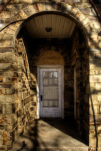 C. E. Forrester Building Entrance - Waldron, AR