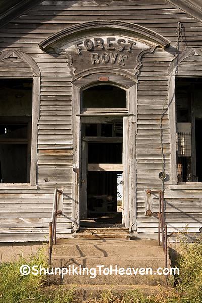 Forest Grove School, 1873, Scott County, Iowa