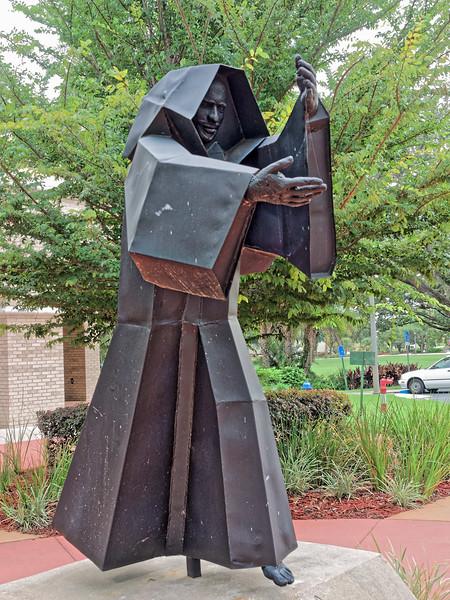 Benedictine Monk Statue at St. Leo University