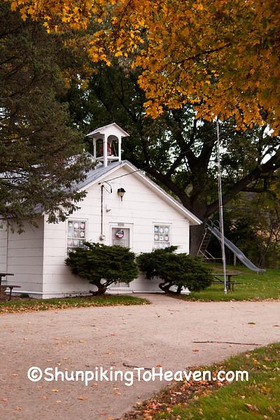 Old Halfway Prairie School, 1844, Dane County, Wisconsin