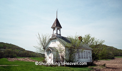Fair Valley Schoolhouse, Sauk County, Wisconsin