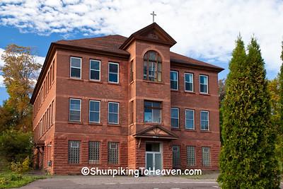 St Cecilia School, Hubbell, Michigan
