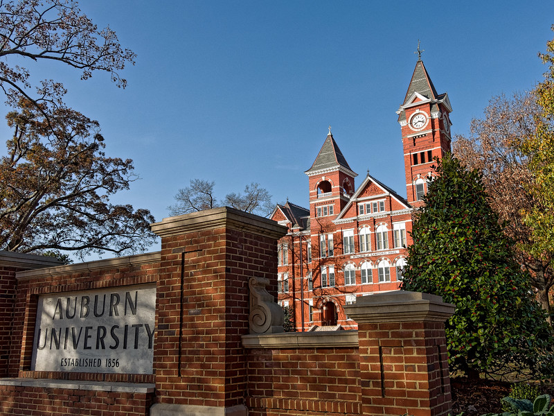 Entrance to Auburn University