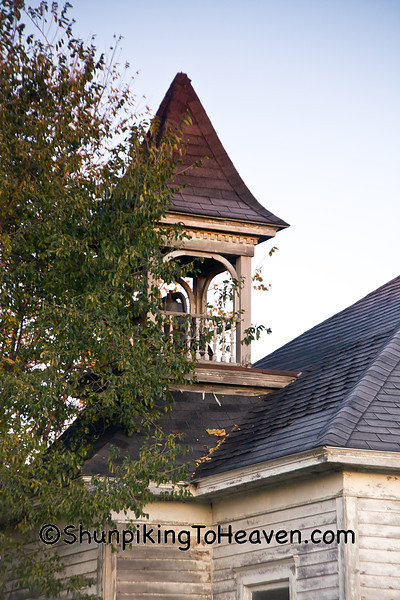 Bell Tower of Orange Mill School, District 1, Juneau County, Wisconsin