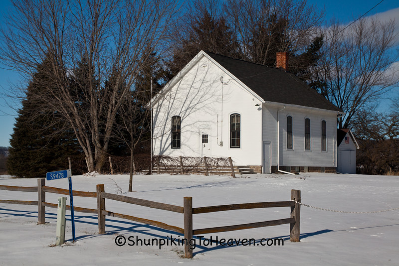 Little Prairie School, Sauk County, Wisconsin