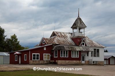 Old School, Jackson County, Wisconsin