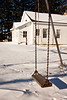 Swing at Friendship School, Sauk County, Wisconsin