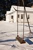 Swing at Friendship School, Sauk County, Wisconsin
