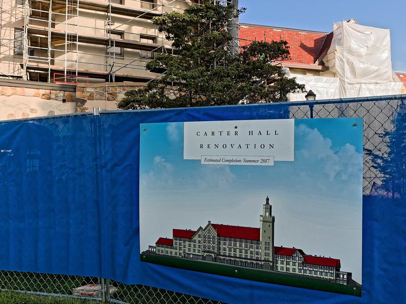 Carter Hall Undergoing Renovation in 2015