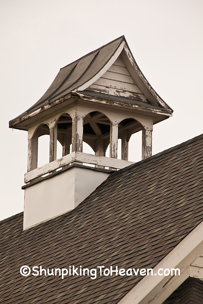 Bell Tower of Rognstad School, Vernon County, Wisconsin