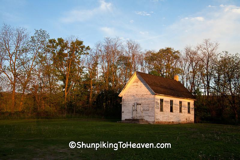 One-Room Schoolhouse, Iowa County, Wisconsin
