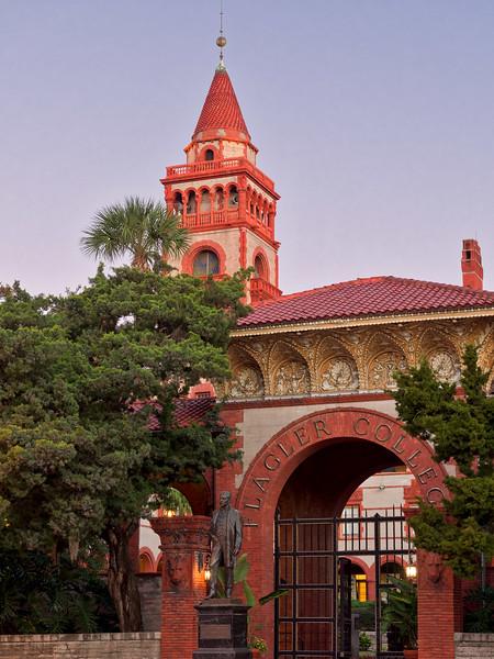 Flagler College's Ponce de Leon Hall in St. Augustine