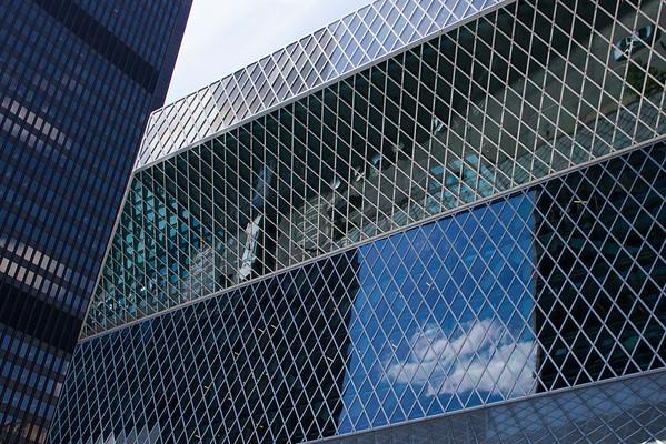 Architects Rem Koolhaus & Joshua Prince-Ramus (2004)