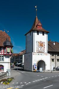 """Town gate """"Luzernertor"""""""