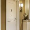 Resident room entry