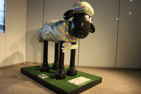 Shaun in the City - 32. Rainbow<br /> The Shard<br /> 11 April 2015