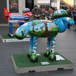 Shaun in the City - Shaun's Trail - 11 April 2015