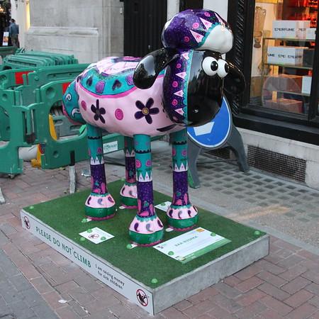 Shaun in the City - 1. Baa-bushka<br /> Carnaby Street<br /> 11 April 2015