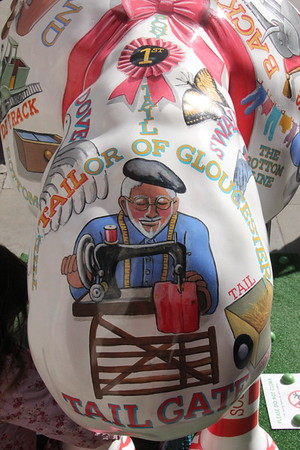 Shaun in the City - 24. Literary Lamb<br /> Temple Bar<br /> 11 April 2015