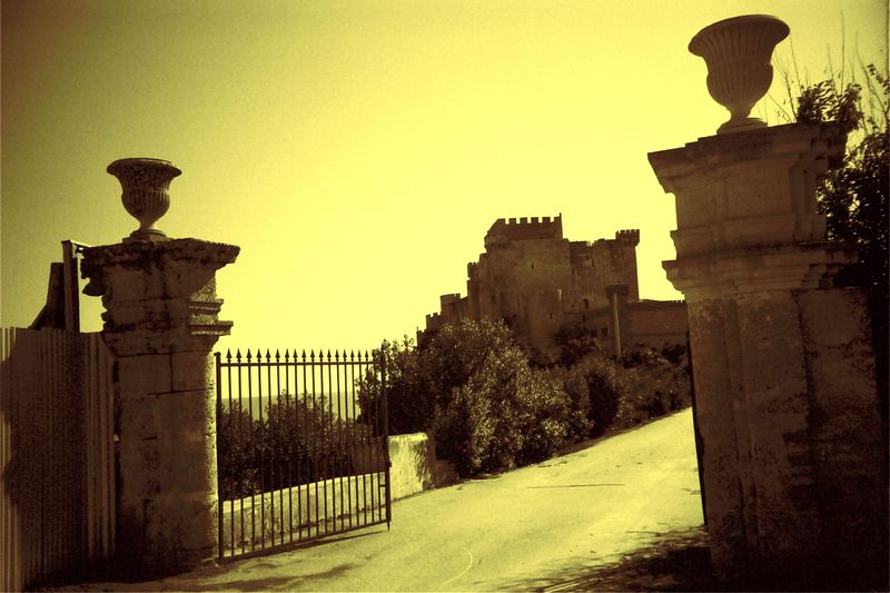 On the road to agrigento from catania by Lomography  color modified by Photoshop