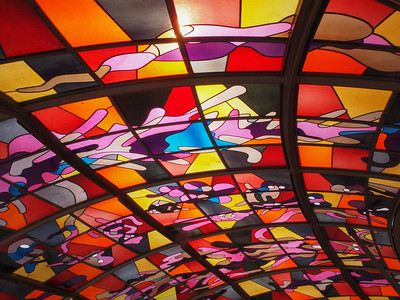 Ceilings in many forms and colors. Photo: Martin Bager.