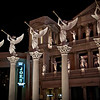 The architectural details on Caesar's Palace Hotel, Las Vegas, NV.