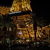 The Eiffel Tower base on the strip, Las Vegas, NV.