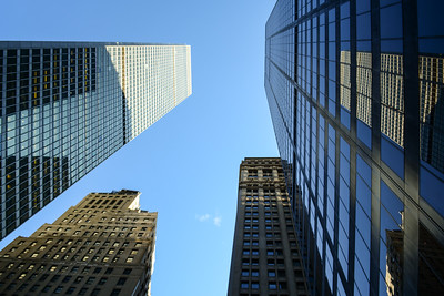 Glass & Concrete Skyscrapers of Midtown