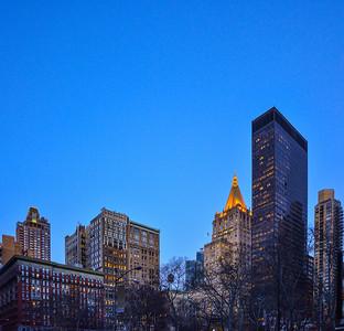 Tall Buildings around Madison Square Park