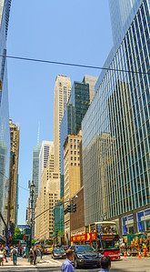 Tall Buildings along 42nd Street