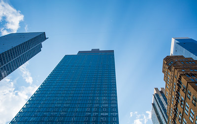 Glass Skyscrapers of Midtown Manhattan