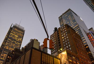 Times Square Skyscrapers