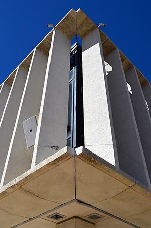 Matagorda County Court House - Corner Detail