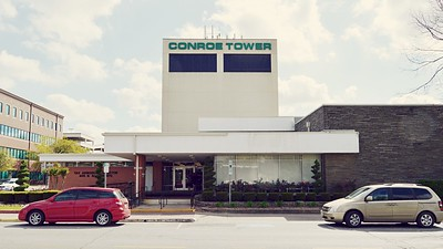 Montgomery County Tax Office and Conroe Tower