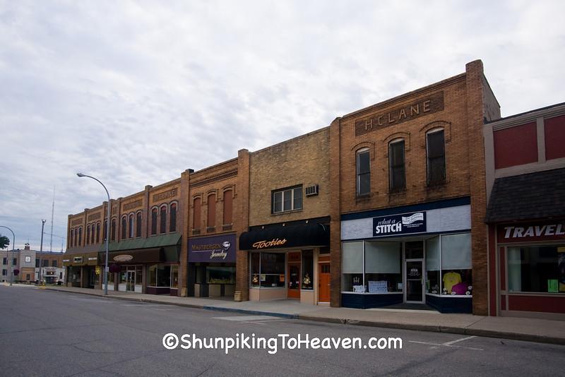 Downtown Sheldon, O'Brien County, Iowa