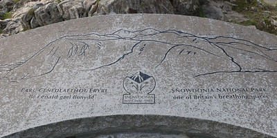 Viewpoint marker stone
