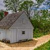 Slave Cabin, Sotterley Plantation, Hollywood, St. Mary's County, Maryland