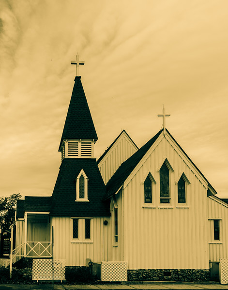 St. Gabriel's Episcopal Church (1887)<br /> Titusville, Fl