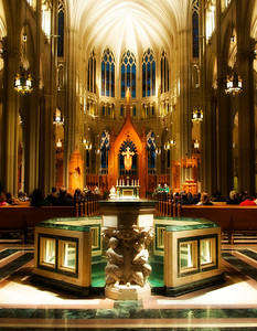 St. Mary's Cathedral Basilica of the Assumption - Covington, KY - Home of the world's largest church stained glass window.