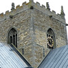 The tower, Saint Marys Church, Stow, Lincolnshire.